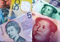 австралийский доллар и китайский юань