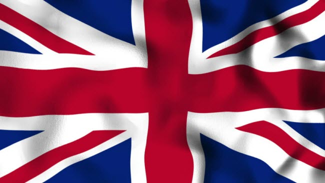 крупнейшие компании Великобритании - английский флаг для иллюстрации