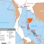 20 лет эксплуатации газового месторождения Bongkot в Сиамском заливе