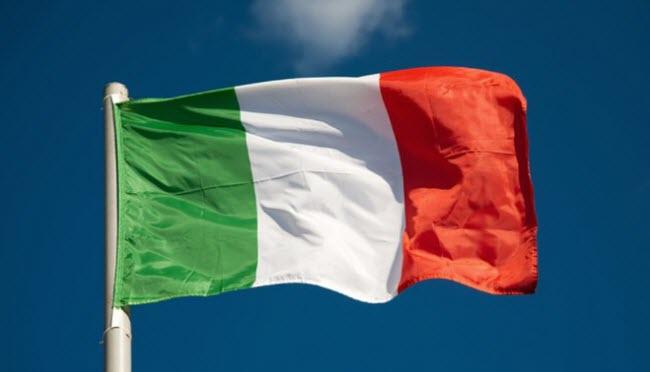 крупнейшие компании Италии - итальянский флаг