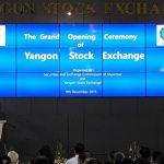 Открылась Янгонская фондовая биржа (YSX)