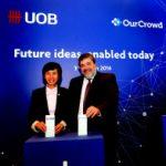 UOB приобрел долю в израильском стартапе OurCrowd