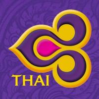 Логотип Тайских авиалиний - национального авиаперевозчика Таиланда