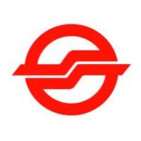 логотип SMRT, оператора сингапурского метро и прочей инфраструктуры публичного транспорта Сингапура