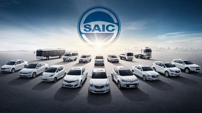 SAIC Motor производимые автомобили