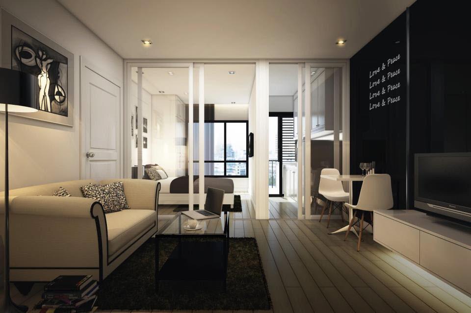внутри типичной квартирки в бангкокском кондоминиуме от Origin Property Group