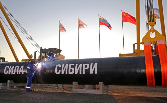 газопровод Сила Сибири, который строит в Китай Газпром
