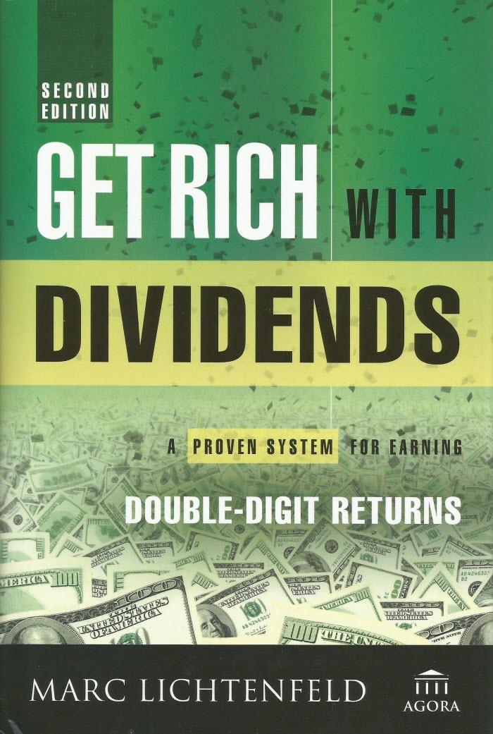 обложка книги Get Rich with Dividends - разбогатеть с помощью дивидендов